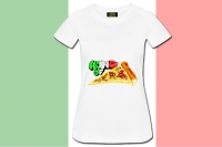"Premium Shirt ""Home of Pizza"""
