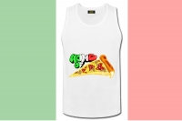 "Tanktop ""Home of Pizza"""