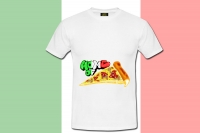 "T-Shirt ""Home of Pizza"""