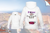 "Hoody ""Poker Skull und Colts"""
