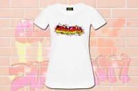 "Premium Shirt ""Graffiti Deutschland"""