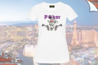"Premium Shirt ""Poker Skull und Colts"""