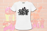 "T-Shirt ""shattered dreams"""