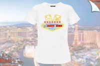 "T-Shirt ""Vegas 21 Chicken Dinner"""